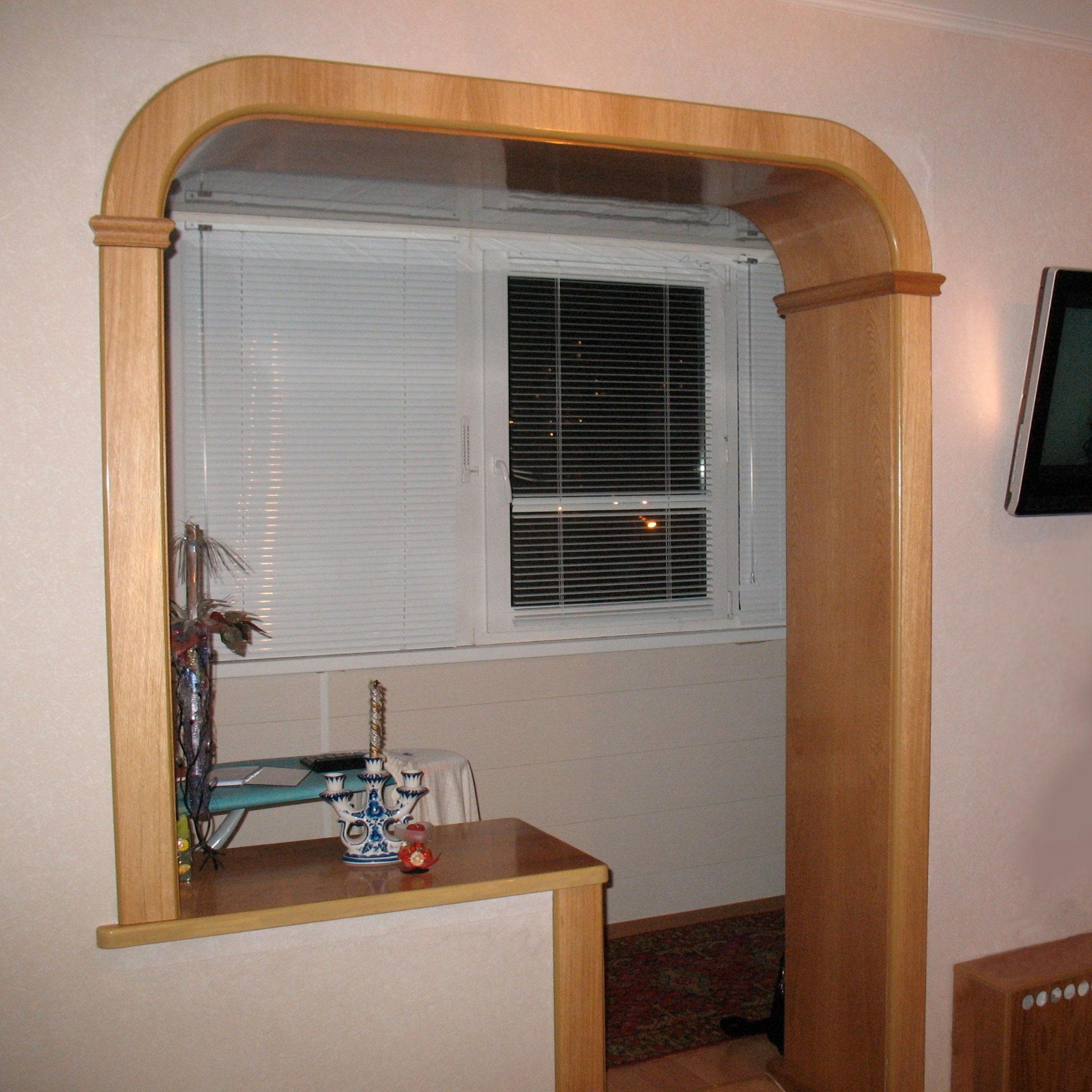 Дверной проем без двери - варианты оформления.